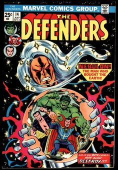 The Defenders # 14 , July 1974 , Marvel Comics Vol 1 1972 On the cover : Defenders ; the Hulk [ Bruce Banner ] ; Sub-Mariner [ Prince Namor ] ; Comic Books For Sale, Marvel Comic Books, Comic Book Heroes, Marvel Heroes, Marvel Characters, Comic Books Art, Comic Art, Book Art, Marvel Vs