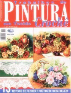 Trabalho de pintura e croche 14 - Adriana Geraldo - Álbuns da web do Picasa Pinturas lindas com riscos