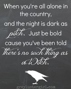 No such thing as a witch ;)  from greylustergirl at http://greylustergirl.com/halloween-mantel-and-free-printable/