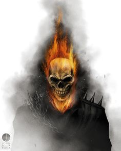 Ghost Rider by John Aslarona