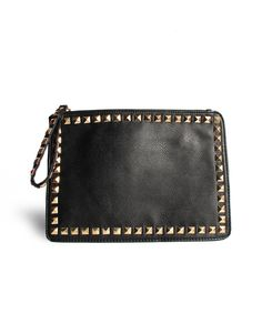 Rectangle Studded Clutch...yes,...I think so.  ;)