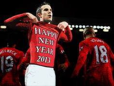 HappyNewYear2013 RVP Eric Cantona, Football Team, Manchester United, About Uk, Soccer, The Unit, Red, Bavaria, Futbol