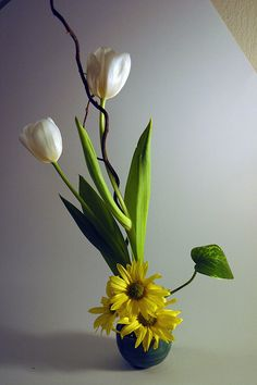 ikebana by luke kurtis, via Flickr