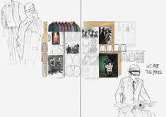 Fashion Portfolio Layout, Fashion Design Sketchbook, Fashion Sketches, Portfolio Ideas, Sketchbook Layout, Textiles Sketchbook, Artist Sketchbook, Flower Doodles, Doodle Flowers