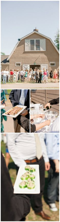 Queens County Farm Wedding On A Sunny Day Surrounded By Happy Friends Family And Animals At The Only In New York City