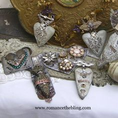 Romancing the Bling: Hearts, Ex Voto, Love