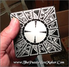 Hellraiser Puzzle Box, Stainless Steel and All Black Lament Configuration