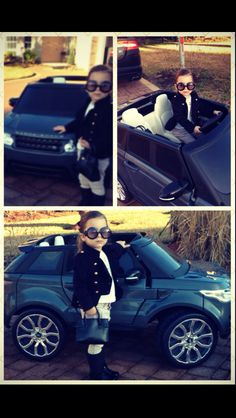 Range Rover Sport....If I had a daughter, she'd roll out just like this! lol
