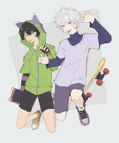 Anime K, Otaku Anime, Kawaii Anime, Anime Guys, Hunter X Hunter, Hunter Anime, Anime Villians, Anime Characters, Infinity Art