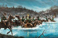 British legion. Cowan's ford