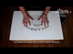 VIDEO TUTORIAL: HOW TO APPLY LARGE WATER DECALS (Our Size A3). Level: Easy | Shabby Chic Stencils and Print Transfers
