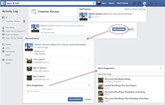 Facebook rolls out 'recommendation' feature (uhm, for better ad-targeting..?)
