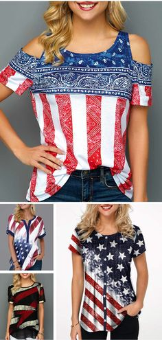 5ee8f99d3d These fun shirts are the perfect way to celebrate 4th of July and show your  America