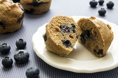 Recipe: Blueberry Protein Muffins