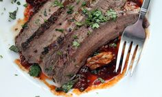 Steak + bacon + BBQ sauce + oysters + butter = best recipe ever?