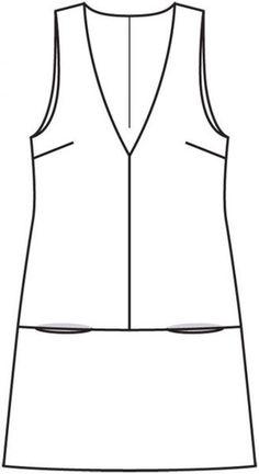 Dress-line – numer wzorca 105 Magazine Burda – sundresses wzór na Burdas… 2019 – Sommerkleider Trend 2019 Sundress Pattern, Dress Sewing Patterns, Fashion Sewing, Diy Fashion, Womens Fashion, Sewing Clothes, Diy Clothes, Harris Tweed Fabric, Beachwear Fashion