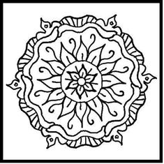 Mandalas to color printable | coloring pages for kids, coloring