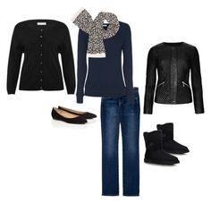 Navy, Black, Leopard & Jeans