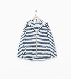 Impermeável capuz da Zara