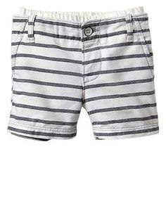 Pull-on stripe shorts | Gap