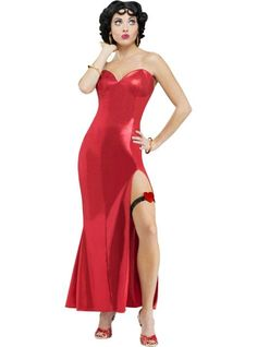 adult glamorous betty boop costume party city