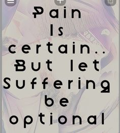 Pain is certain Calm, Let It Be, Artwork, Work Of Art