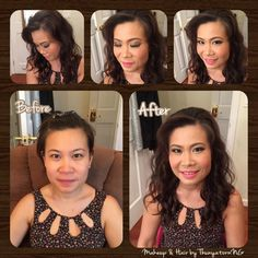 Makeup and hair by Thunyatorn NG