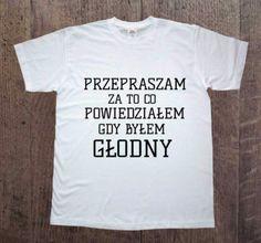 Głodny,+Męska+koszulka+z+nadrukiem,+w+DDshirt+na+DaWanda.com