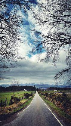 Road to Culbokie |  Highland, Scotland
