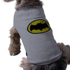 Batman Symbol Dog Tee by Batman (TM) on Zazzle  @zazzle #dog #shirt #tshirt #clothing #apparel #cute #buy #shop #sale #shopping #blog #blogging #look #fun #sweet pet #animal #friend #family #nice #batman #comic #book #superhero