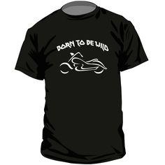 T-shirt rock : BORN TO BE WILD