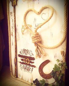 Pannello decorativo dedicato , tema passione cavalli ( dettaglio)