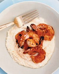 Barbecued Shrimp - Best with Cheese Grits!  | G-Free Foodie #GlutenFree