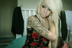 Sleeve Tattoos on Girls. | LUUUX