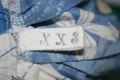 @Lindsay Garner ***LOOK*** I could so make these for you ..Make your own sew in tags tutorial