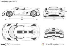 The Koenigsegg Agera R - Super Car Center Koenigsegg, Car Design Sketch, Car Sketch, Low Poly Car, Car Facts, Ferrari 288 Gto, Super Sport Cars, Modelos 3d, Futuristic Cars