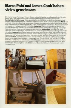 Marco Polo 1984 Mercedes Camper, Mercedes Van, Marco Polo, Campervan, Vw, Diy And Crafts, Collections, Camper Van, Truck
