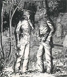 Two Metropolitan Police officers on graveyard patrol.