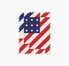 32 World Cup Stamps, USA _ Design: Mann
