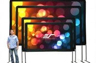 Elite's Yard Master Series of outdoor theater screens is ideal for picnics, barbecues or virtually any other outdoor projector presentation imaginable. It is an affordable solution to having a professionally formatted outdoor projection screen that sets up and takes down quickly. Its durable DynaBrite projection material is made for the...