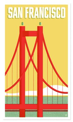 i already own a san francisco print that's not hanging on my wall. but this one by the heads of state is quite frankly better.