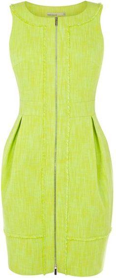 KAREN MILLEN Tweed Collection Dress - Lyst