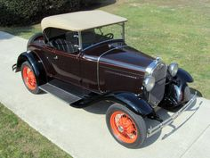 1930 Ford Model A Roadster Convertible RUMBLE SEAT - Image 1 of 31