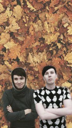 Dan and Phil Lockscreens