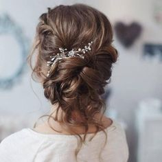 Ideas para que uses en tu día esperado #Wedding #Peinado #HairStyle #Bride #Pretty #BEauty