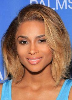 Love Ciara's blonde lob
