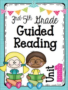 This 3rd-5th grade guided reading unit  has been a long time coming, because it's taken my years to decide how I wanted to transform my reading instruction.
