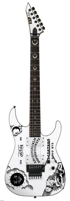 Kirk Hammett's ESP KH-2 Ouija
