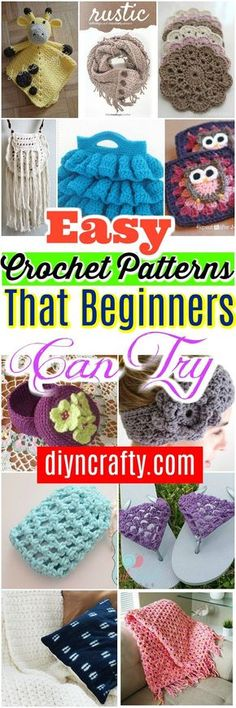 Easy #Crochet patterns is a very versatile project and can be so much fun.