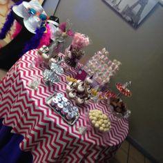Paris Candy Buffet